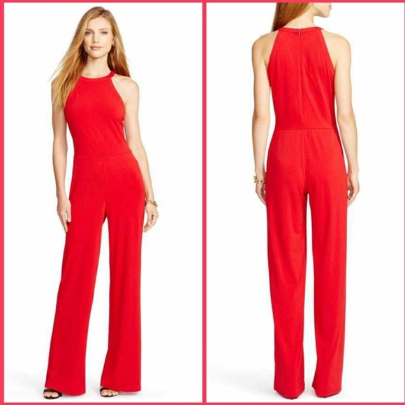 Ralph Lauren Pants Red Jumpsuit Poshmark